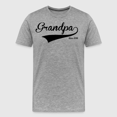 Grandpa Since 2016 - Men's Premium T-Shirt