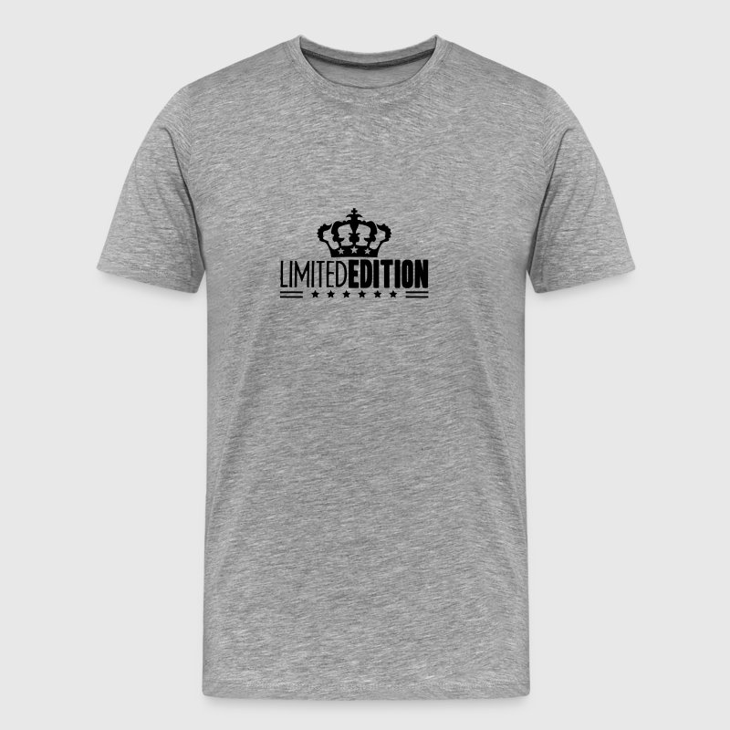 Limited Edition King Crown Stars Logo - Men's Premium T-Shirt