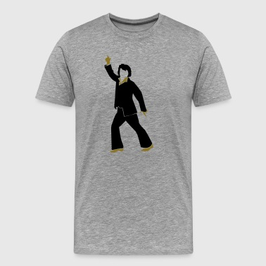Elvis Presley Elvis disco dancer  - Men's Premium T-Shirt