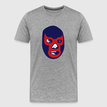 mexican wrestling mask - Men's Premium T-Shirt