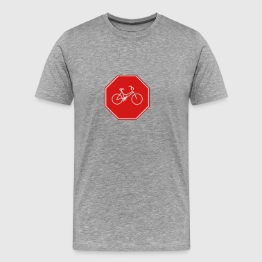 Lady's bike in the stars - Men's Premium T-Shirt