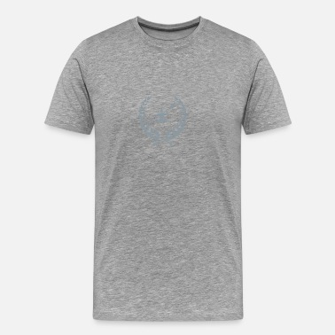 Canoe Canoe laurel wreath - Men's Premium T-Shirt