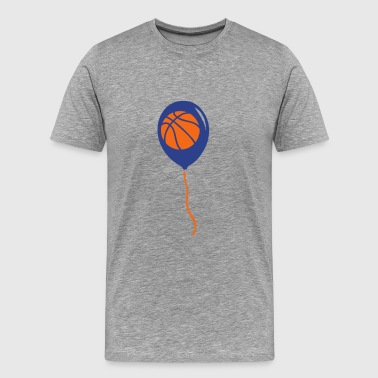 basketball sports ball balloon - Men's Premium T-Shirt