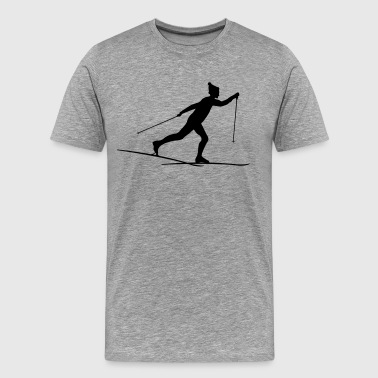 Cross country skiers Cross country - Men's Premium T-Shirt