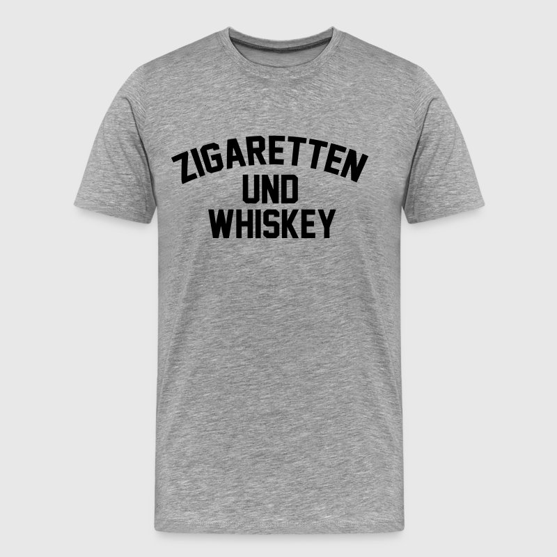 Cigarettes & Whiskey - Men's Premium T-Shirt