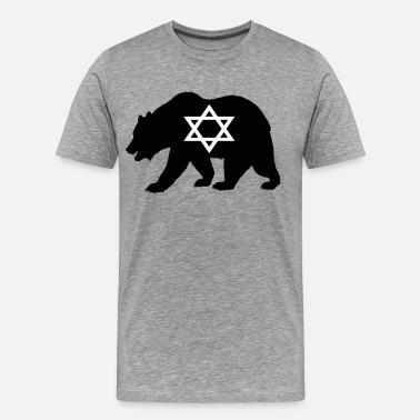 Jew Bear Jew - Men's Premium T-Shirt