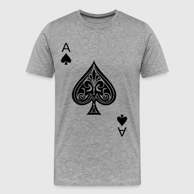 ace - Men's Premium T-Shirt