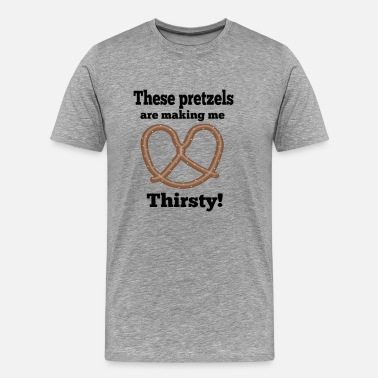 Seinfeld Quote Seinfeld Quote - These Pretzels Are Making Me.... - Men's Premium T-Shirt