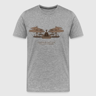 daVinci Aerial Screw Quad - Men's Premium T-Shirt
