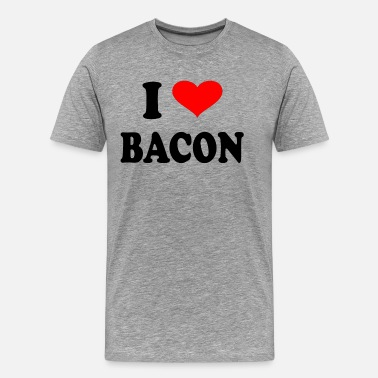 I Love Bacon I Love Bacon - Men's Premium T-Shirt