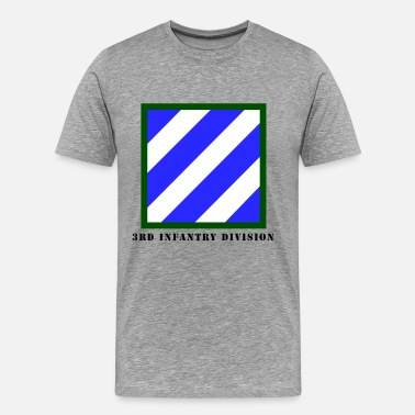 Army Division US Army 3rd Infantry Division - Men's Premium T-Shirt