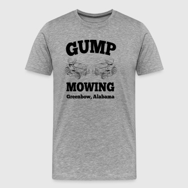 Gump Mowing  - Men's Premium T-Shirt