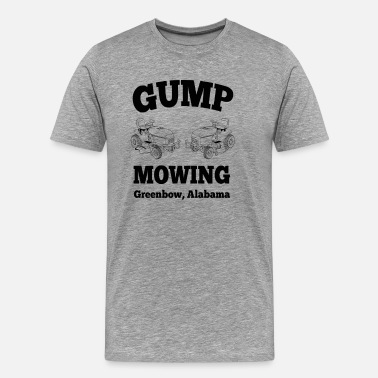 Tom Hanks Gump Mowing  - Men's Premium T-Shirt