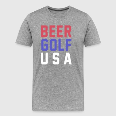 Beer Golf USA - Men's Premium T-Shirt