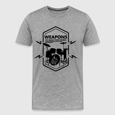 Drummer Drums Drums - Men's Premium T-Shirt