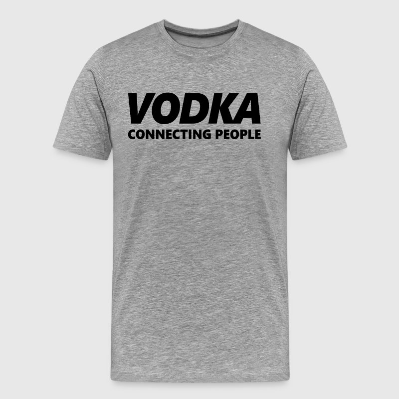 VODKA Connecting People - Men's Premium T-Shirt