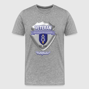 Veteran 8th Infantry Division - Men's Premium T-Shirt