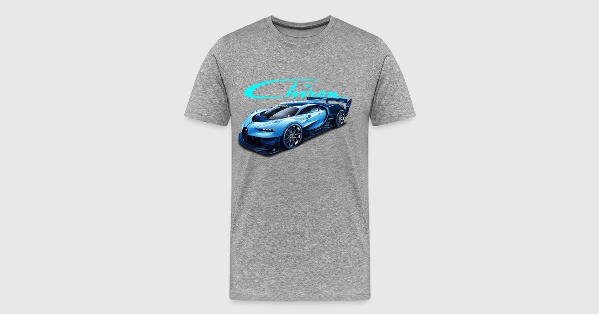 bugatti chiron vision gt t shirt spreadshirt. Black Bedroom Furniture Sets. Home Design Ideas