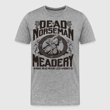 Barbarian The Dead Norseman Meadery - Men's Premium T-Shirt