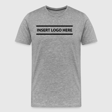 Insert Logo Here - Men's Premium T-Shirt