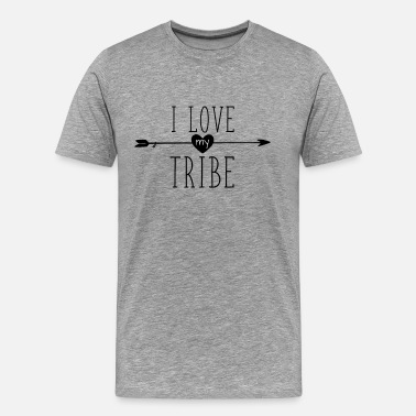 Family Reunion I Love My Tribe - Family Reunion - Men's Premium T-Shirt