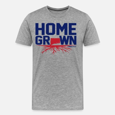 Homegrown Homegrown Connecticut  - Men's Premium T-Shirt