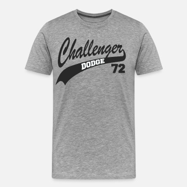 Number 72 72 Challenger - Men's Premium T-Shirt