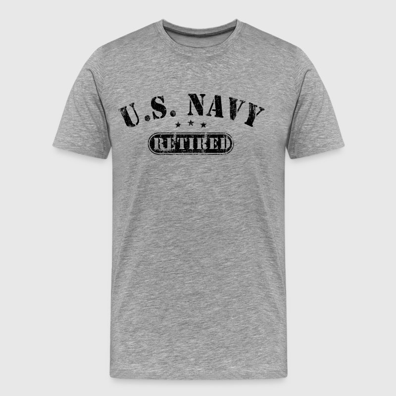 US Navy Retired - Men's Premium T-Shirt