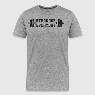 Everyday Clothing Stronger Everyday - Men's Premium T-Shirt