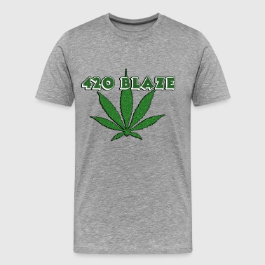 Weed Is Natural 420 ganja blaze, smoke weed everyday, marihujana - Men's Premium T-Shirt