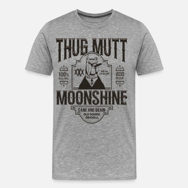 Thug Mutt Moonshine - Men's Premium T-Shirt