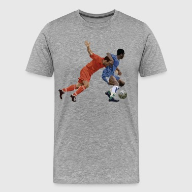 Basketball cartoon characters - Men's Premium T-Shirt
