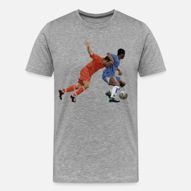 Basketball Cartoon Characters Basketball cartoon characters - Men's Premium T-Shirt