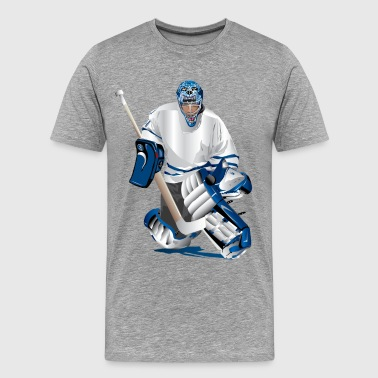 Hockey player - Men's Premium T-Shirt