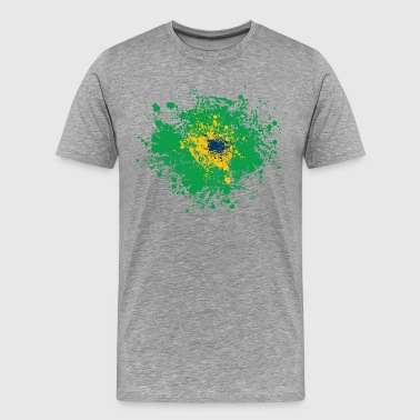 Brazil national flag - Men's Premium T-Shirt
