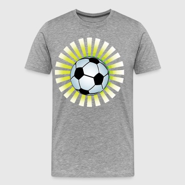 Football logo design - Men's Premium T-Shirt