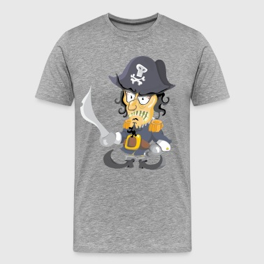 Pirate Art Devil pirates art - Men's Premium T-Shirt