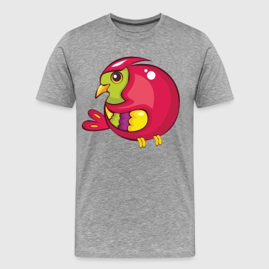Pink turkey cartoon - Men's Premium T-Shirt
