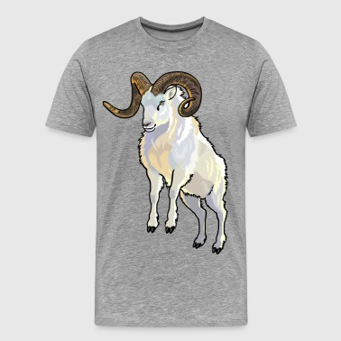 Wild Animal Wild Animals Sheep wild animal - Men's Premium T-Shirt
