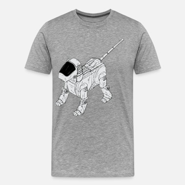 Clip Art Robot dog clip art - Men's Premium T-Shirt