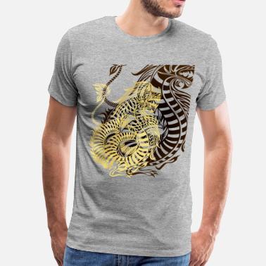 Shop Dragon Tattoo Design T Shirts Online Spreadshirt