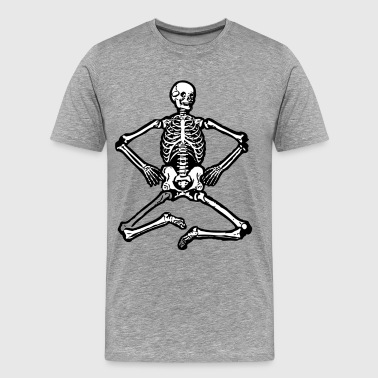 Human skeleton clip art - Men's Premium T-Shirt