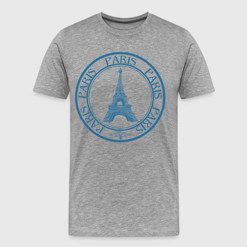 Paris travel stamp - Men's Premium T-Shirt