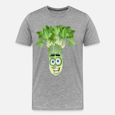 Cartoons Smiley Smiley coriander cartoon image - Men's Premium T-Shirt