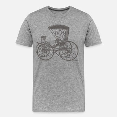 Antique Antique transport vehicle - Men's Premium T-Shirt