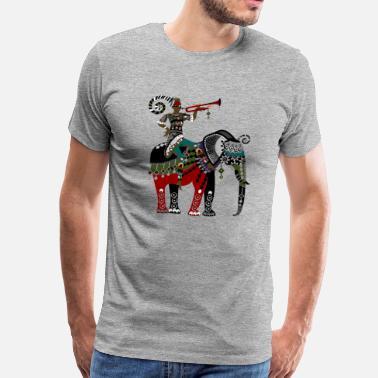9154760f7729 Hand Painted Ethnic decorative painting - Men s Premium T-Shirt