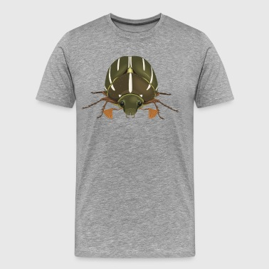 Insect green bug - Men's Premium T-Shirt