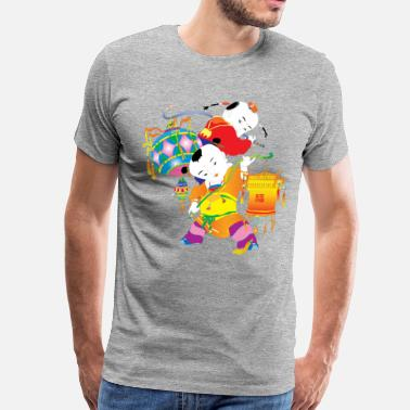 Traditional Chinese Traditional Chinese kids art - Men's Premium T-Shirt