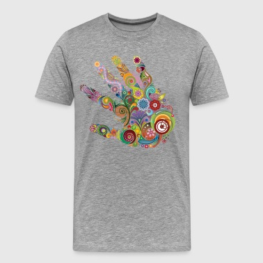 Creative Creative palm design - Men's Premium T-Shirt