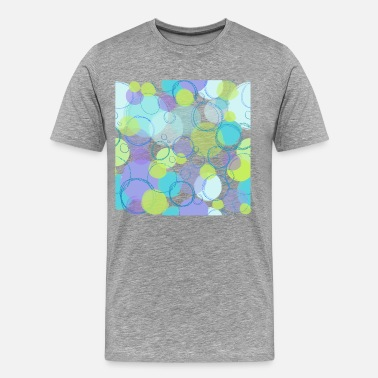 Seamless Pattern Seamless pattern circles - Men's Premium T-Shirt